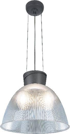 Pendelleuchte Energiesparlampe E27 150 W SLV Para Dome 2 165100 Anthrazit, Transparent