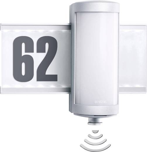 led au enwandleuchte mit bewegungsmelder 9 w warm wei steinel l 625 s 3746 warm wei kaufen. Black Bedroom Furniture Sets. Home Design Ideas