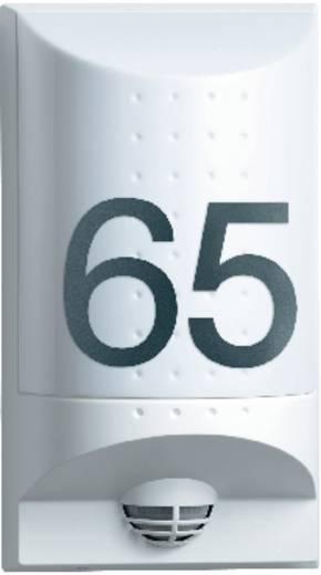 LED-Hausnummernleuchte mit Bewegungsmelder 8 W Warm-Weiß Steinel Professional L650 S 4033 Weiß