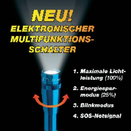 LED Taschenlampe MAG LED Technology Mini-Mag 2AA batteriebetrieben 118 g Blau
