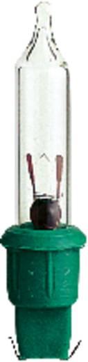 Ersatzleuchtmittel Weihnachten 2,5 V Grüne Steckfassung 0,25 W Klar Konstsmide 5er-Set
