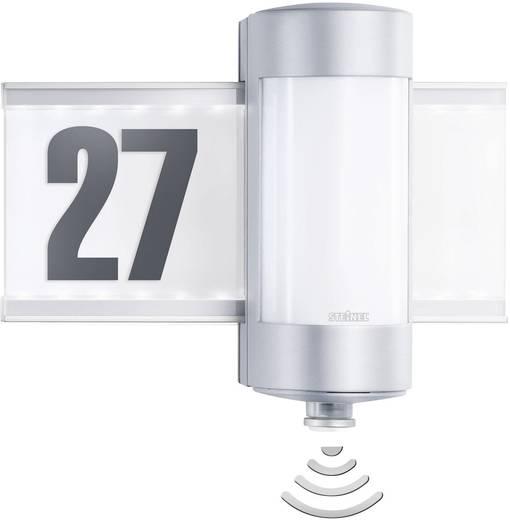 Hausnummernleuchte mit Bewegungsmelder Halogen G9 80 W Steinel L 270 S 647810 Aluminium