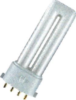Úsporná žiarivka Osram, 9 W, 2G7, teplá biela