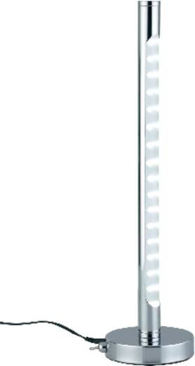 paulmann tower 77054 led schreibtischleuchte 6 w tageslicht wei chrom kaufen. Black Bedroom Furniture Sets. Home Design Ideas
