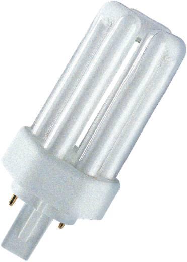 Energiesparlampe 123 mm OSRAM GX24d-2 18 W Kalt-Weiß EEK: B Röhrenform Inhalt 1 St.
