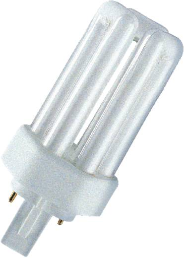OSRAM Energiesparlampe EEK: B (A++ - E) GX24D-3 137 mm 230 V 26 W Neutralweiß Röhrenform 1 St.