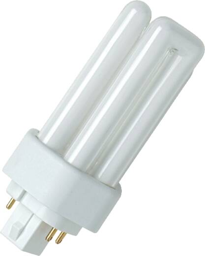 Energiesparlampe 130 mm OSRAM 230 V GX24Q-3 26 W Warmweiß EEK: A Röhrenform 1 St.