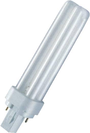 Kompakt-Leuchtstofflampe EEK: B (A++ - E) G24d-1 87 mm 230 V 10 W Neutral-Weiß Röhrenform 10 St.