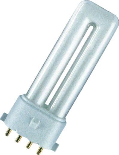 Energiesparlampe 114 mm OSRAM 2G7 7 W Warm-Weiß EEK: A Stabform Inhalt 1 St.