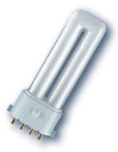 Energiesparlampe 114 mm OSRAM 230 V 2G7 7 W Warmweiß EEK: A Stabform 1 St.
