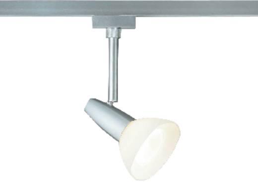 Hochvolt-Schienensystem-Leuchte URail GZ10 40 W Halogen Paulmann Barelli Chrom (matt)