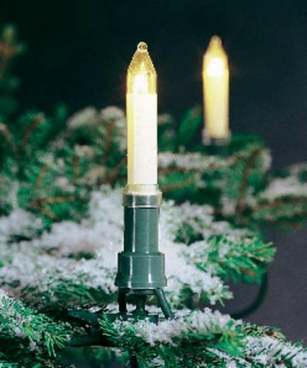 Konstsmide 1128-000 Weihnachtsbaum-Beleuchtung Außen EEK: E (A++ - E) netzbetrieben 16 Glühlampe Klar Beleuchtete Länge
