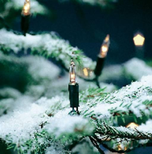 Mini-Lichterkette Innen netzbetrieben 120 Glühlampe Warm-Weiß Beleuchtete Länge: 17.85 m Konstsmide 2060-000