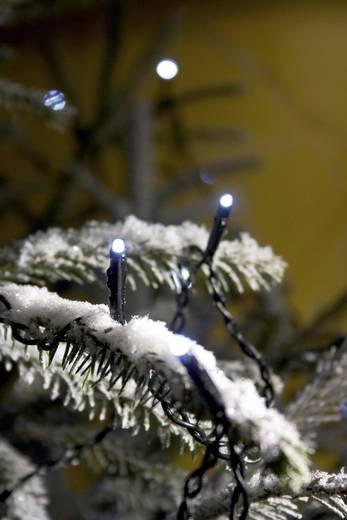 Micro-Lichterkette Außen netzbetrieben 40 LED Weiß Beleuchtete Länge: 14.74 m Konstsmide 3610-200