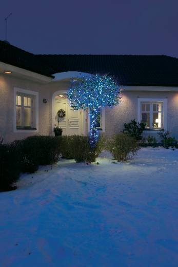 Konstsmide 3610-400 Micro-Lichterkette Außen EEK: A (A++ - E) netzbetrieben 40 LED Blau Beleuchtete Länge: 14.74 m