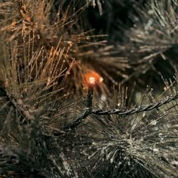 Venkovní vánoční řetěz Konstsmide, 40 LED, oranžová