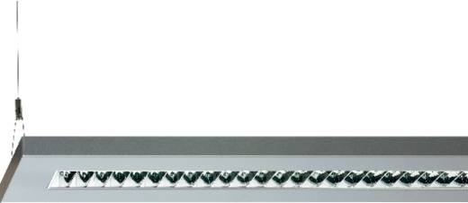 Pendel-Rasterleuchte Leuchtstoffröhre G5 80 W Regiolux 60301954175 Aluminium