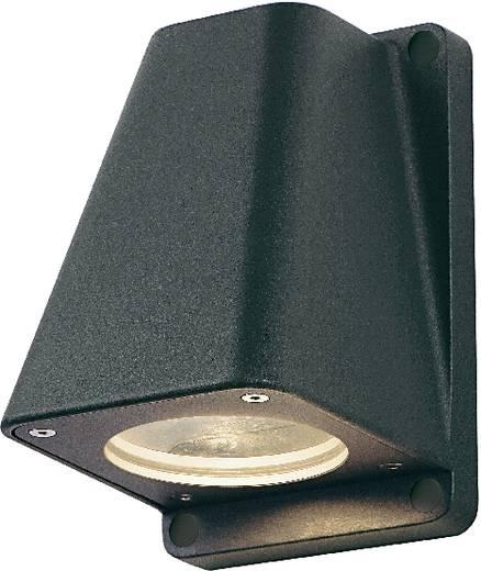 SLV Wallyx 227195 Außenwandleuchte Halogen, LED GU10 50 W Anthrazit