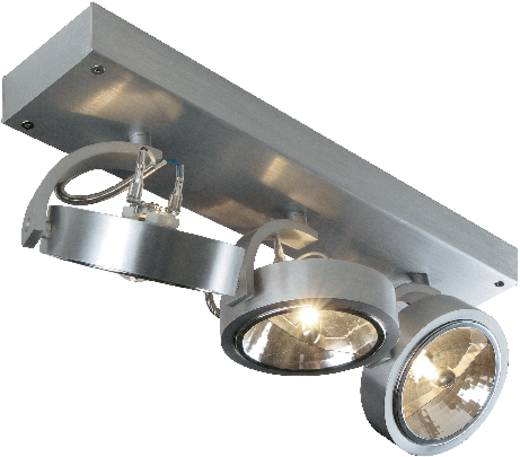 Deckenstrahler Halogen G5.3 150 W SLV Kalu 3 147276 Aluminium (gebürstet)