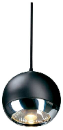 Hochvolt-Schienensystem-Leuchte Easy Tec II Silber GU10 75 W SLV Light Eye Schwarz