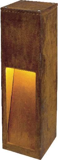 Außenstandleuchte Energiesparlampe E27 11 W SLV Rust Slot 50 229410 Eisen (gerostet)