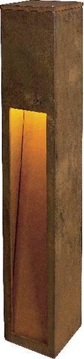 Außenstandleuchte Energiesparlampe E27 11 W SLV Rust Slot 80 229411 Eisen (gerostet)