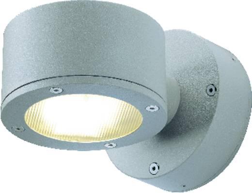 SLV Sitra Wall 230354 Außenwandleuchte Energiesparlampe GX53 9 W Stein-Grau