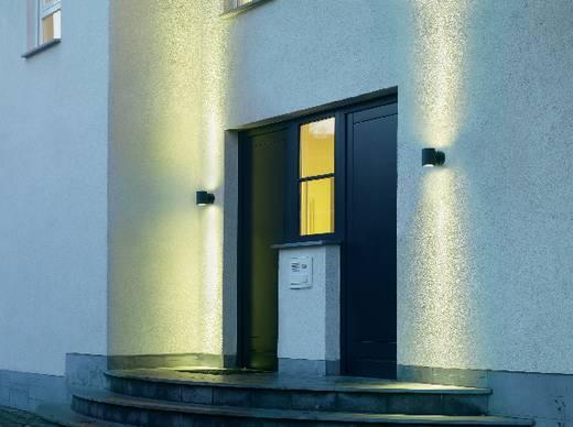 SLV Sitra Up & Down 230365 Außenwandleuchte Energiesparlampe GX53 18 W Anthrazit