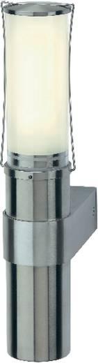 SLV Big Nails 229182 Außenwandleuchte Energiesparlampe, LED E27 15 W Edelstahl