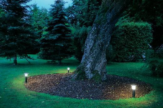 Außenstandleuchte Energiesparlampe E27 24 W SLV Alpa Mushroom 40 228935 Stein-Grau