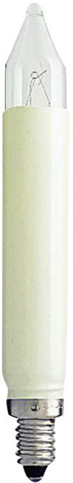 Image of Konstsmide 1034-020 Normal-Schaftkerze 2 St. E10 12 V Klar