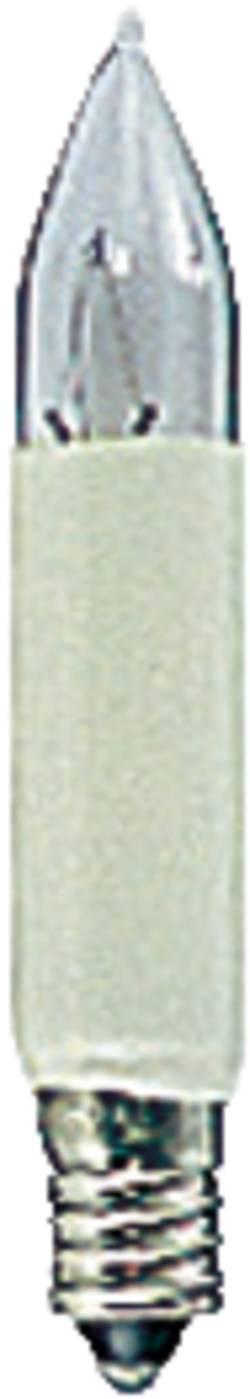 Petite ampoule en forme de bougie 23 V Konstsmide 1050-020 clair E10 2 pc(s)