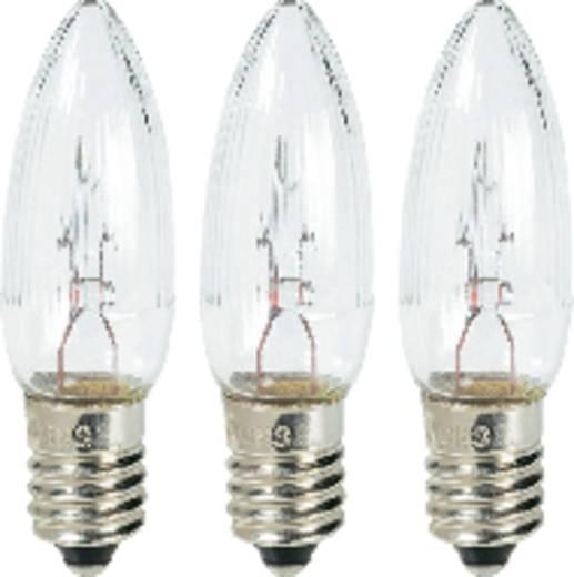 Konstsmide 1051-030 Ersatzlampen 3 St. E10 55 V Klar