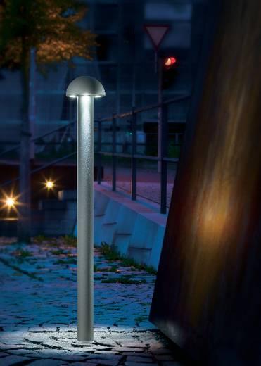 Esotec LED Außenstandleuchte DOME 105268 Schutzart IP44 Silber-Grau IP44 LED fest eingebaut