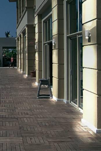 LED-Außenwandleuchte 6 W Kalt-Weiß 573923 Aluminium