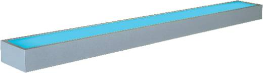 Bad-Wandleuchte Leuchtstofflampe G5 21 W SLV Flat 121 157192 Aluminium
