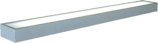 Bad-Wandleuchte Leuchtstofflampe G5 42 W SLV Flat 221 157202 Silber-Grau
