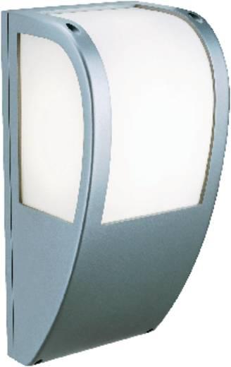 Außenwandleuchte Energiesparlampe, LED E27 24 W SLV KERAS ELT WANDLEUCHTE, SILBER 227174 Silber-Grau