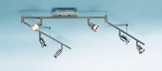 Schienen-Komplett-System GU10 300 W Halogen Nice Price 3658 Silber