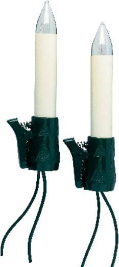 Ersatzleuchtmittel Weihnachten 15 V E10 3 W Warm-Weiß OSRAM 2er-Set