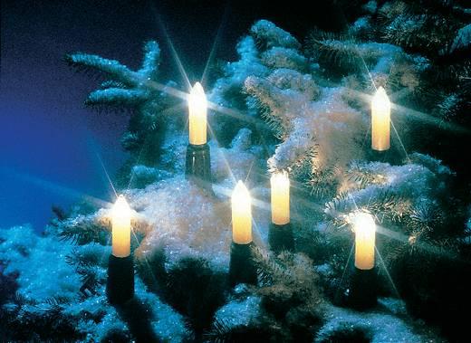Weihnachtsbaum-Beleuchtung Außen netzbetrieben 15 Glühlampe Warm-Weiß Beleuchtete Länge: 15 m OSRAM CAK GN 105W 230V