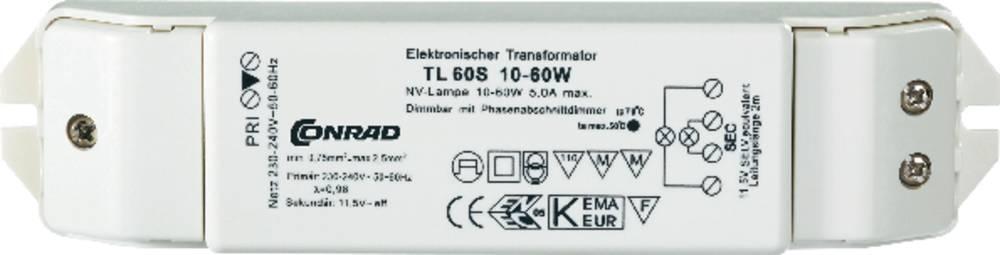 Transformateur Pour Halogene Tl60 S 12 V 10 60 W Dimmable Avec