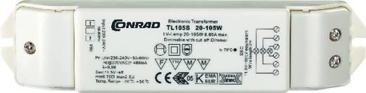 Halogen Transformator TL105S 12 V 20 - 105 W dimmbar mit Phasenabschnittdimmer