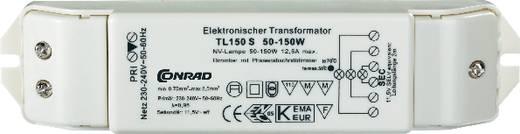 Halogen Transformator TL150S 12 V 50 - 150 W dimmbar mit Phasenabschnittdimmer
