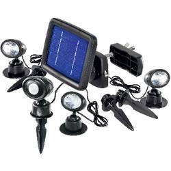 Solární LED svítidlo s detektorem pohybu Esotec Trio, 102144, 3 ks