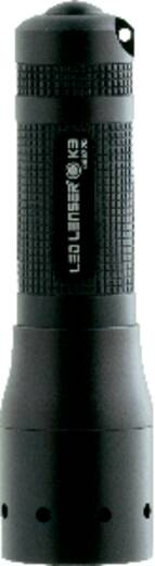 LED Mini-Taschenlampe mit Schlüsselanhänger LED Lenser K3 batteriebetrieben 34 g Schwarz
