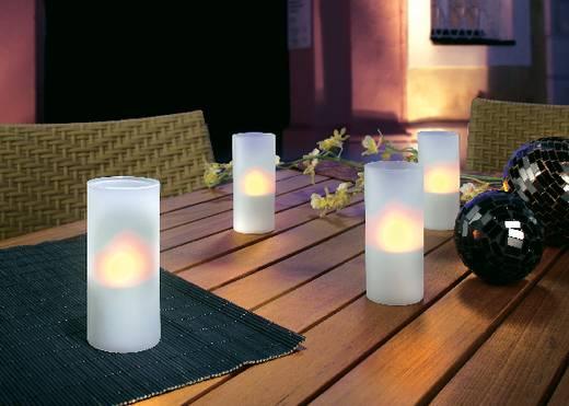 LED-Dekoleuchte 4er Set Kerze LED 4.5 W 574337 Weiß