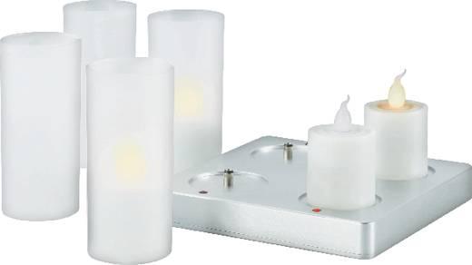 LED-Dekoleuchte 4er Set Kerze LED 4.5 W JS602-2 574337 Weiß