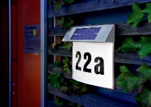 solar hausnummernleuchte neutral wei esotec 102200 vision edelstahl kaufen. Black Bedroom Furniture Sets. Home Design Ideas