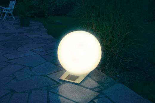 Solar-Dekoleuchte Kugel LED RGB Esotec Trendy 40 cm 106044 Weiß